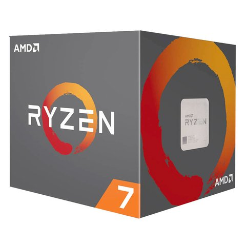 Procesador AMD Ryzen 7 2700 4.1 GHz AM4 (NPR204)