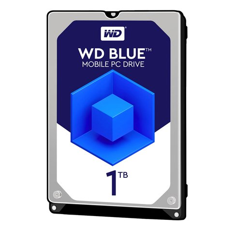 Disco Rígido WD Blue 1TB WD10JPVX Notebook (NRI221)