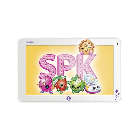 Tablet LEVEL-UP Shopkins 9P/Quad-Core/1GB/8GB/Dual Cam (NTA202)