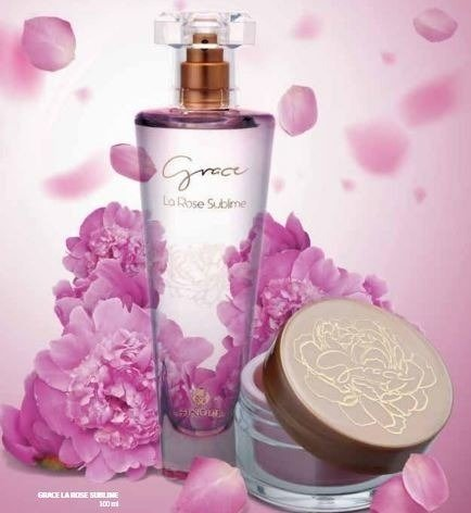 KIT DEO COLONIA GRACE LA ROSE SUBLIME 100ML