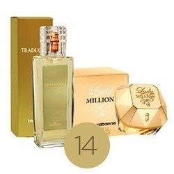Deo Colonia Lady Million-Traduções Gold 14-100ml