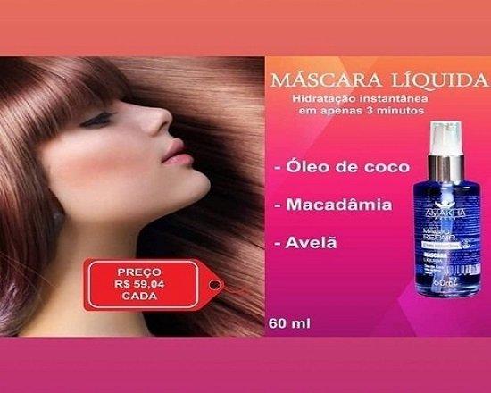 9364dacbb Máscara Líquida Magic Repair - 60ml - PERFUMEBHZ