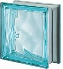 ladrillo de vidrio nube cloudy aguamarina xxcm