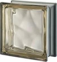 ladrillo de vidrio nube cloudy bronce xxcm