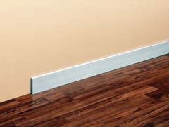 Zocalo Eps Plain Blanco 2,5m X 70mm Atrim Simil Madera