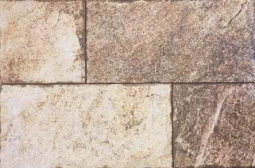 Revestimiento ceramico tabarca beige simil piedra pared for Revestimiento pared piedra