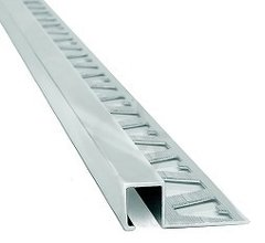 Aluminio Cantonera Guardacanto Quadra 10mm Mate Atrim 3423 en internet