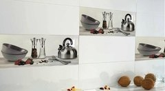 Ceramica Cocina Decorada Con Relieve 25x50 Pared Modelo Sal en internet
