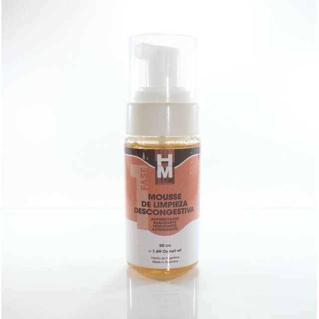 Mousse de Limpieza descongestiva 50ml