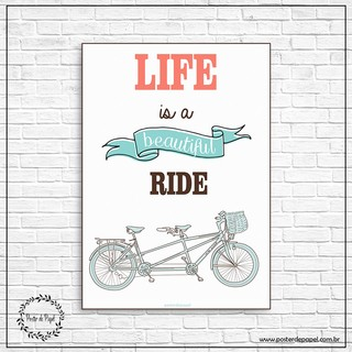 Poster Beautiful Ride - comprar online