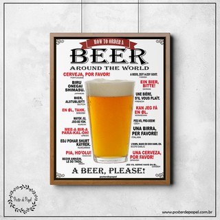 Poster Beer