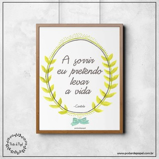Poster Decorativo Cartola