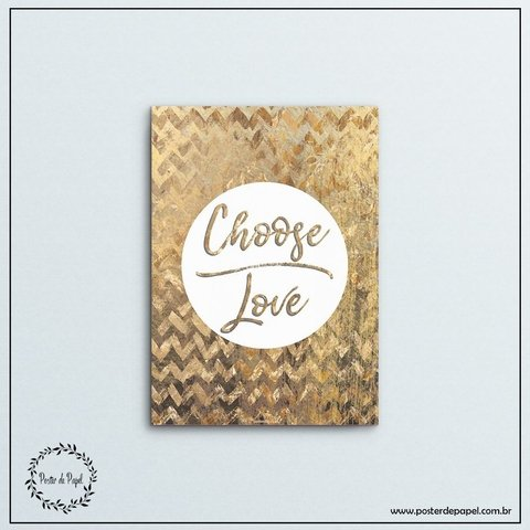 Placa Choose - comprar online