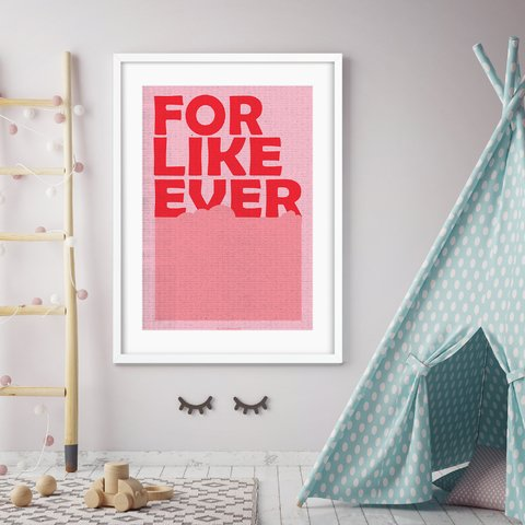 Poster For Like Ever