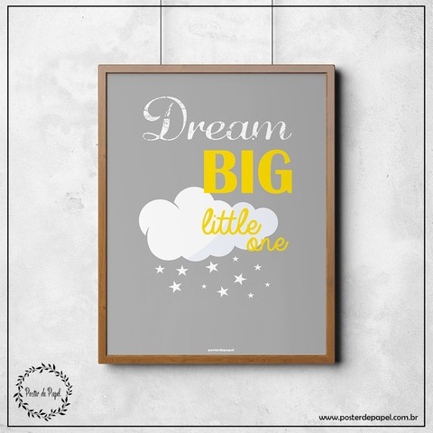 Poster Infantil Dream Big