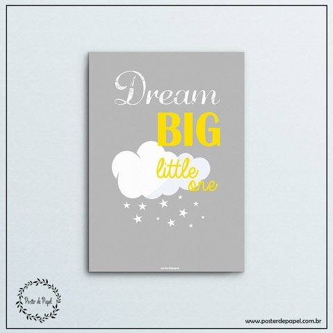 Poster Infantil Dream Big - comprar online