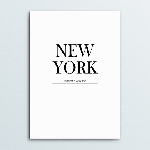 Set de Posters NY a Good Idea - comprar online