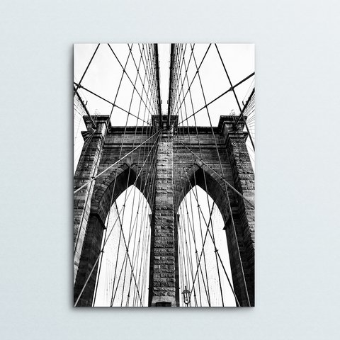 Poster Ponte do Brooklin - comprar online