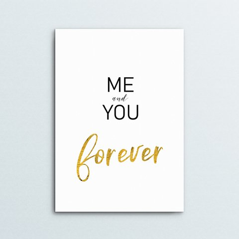 Poster You and Me - comprar online