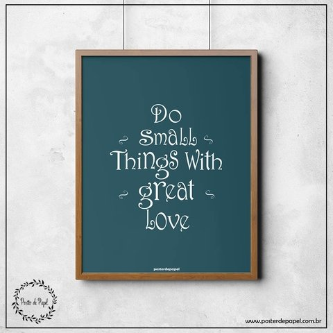 Poster decorativo Small Things