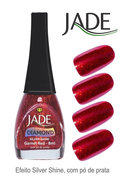 Esmalte Jade Diamond Garnet Red na internet