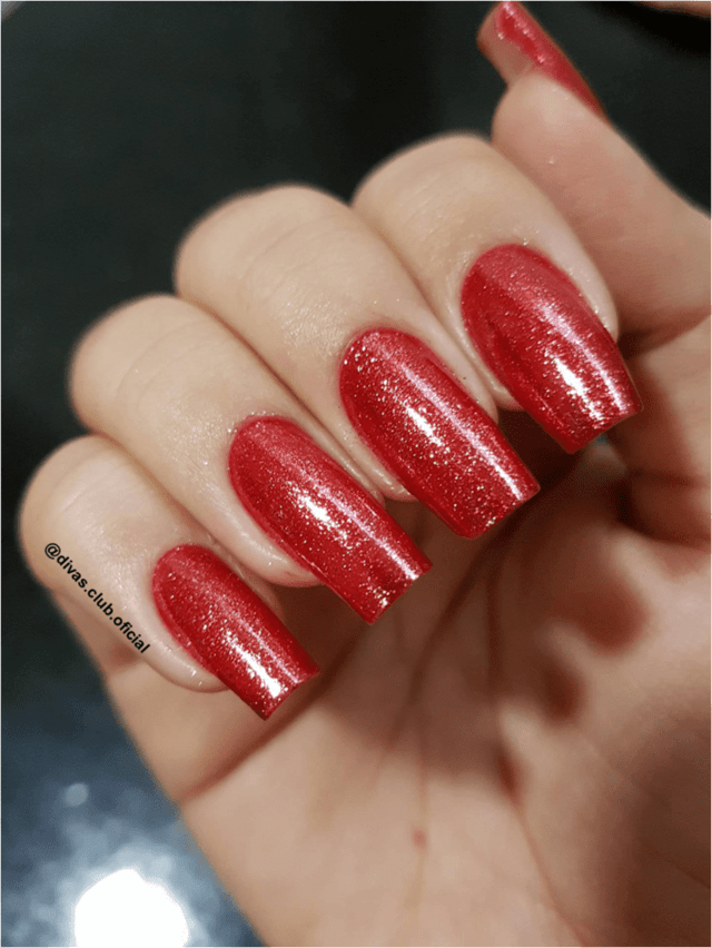 Esmalte Jade Diamond Garnet Red