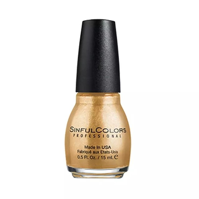 Esmalte SinfulColors Professional Gold Medal