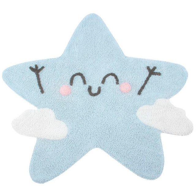 Tapete Happy Star 1,20 x 1,20 - Lorena Canals
