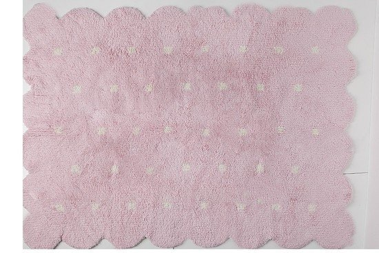 Tapete Galleta Dupla Face Rosa 1,20 x 1,60 - Lorena Canals - comprar online