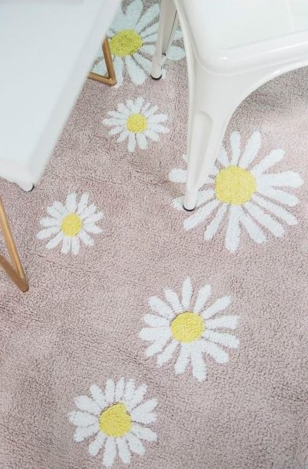 Tapete Happy Daisies 1,40 x 2,00 - Lorena Canals - Betsy Decor