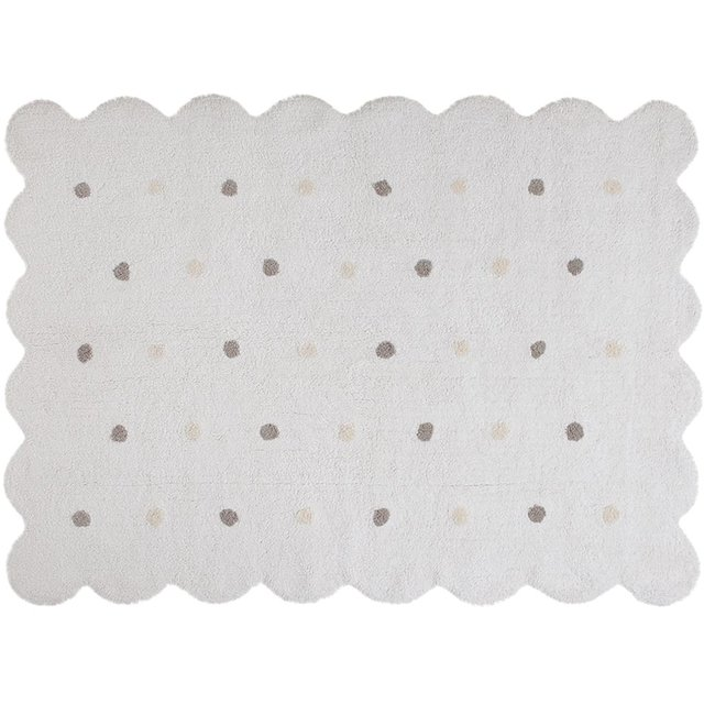 Tapete Galleta Branco 1,20 x 1,60 - Lorena Canals