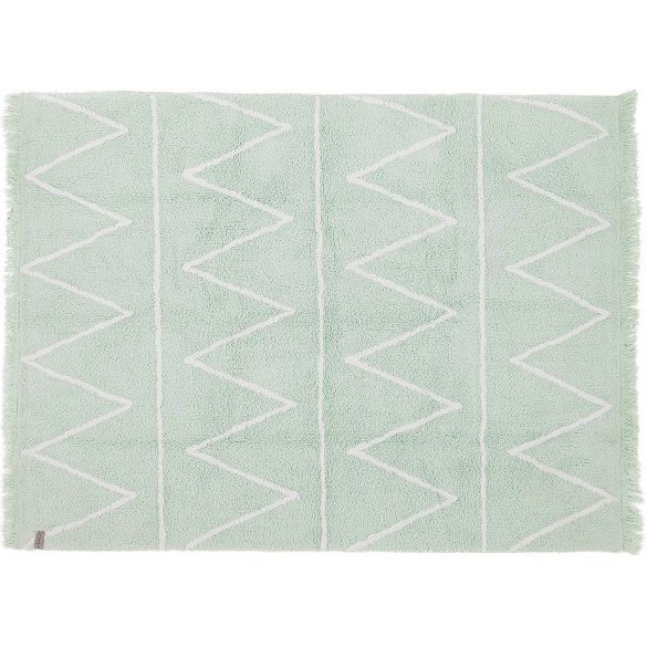 Tapete Hippy Menta 1,20 x 1,60 - Lorena Canals