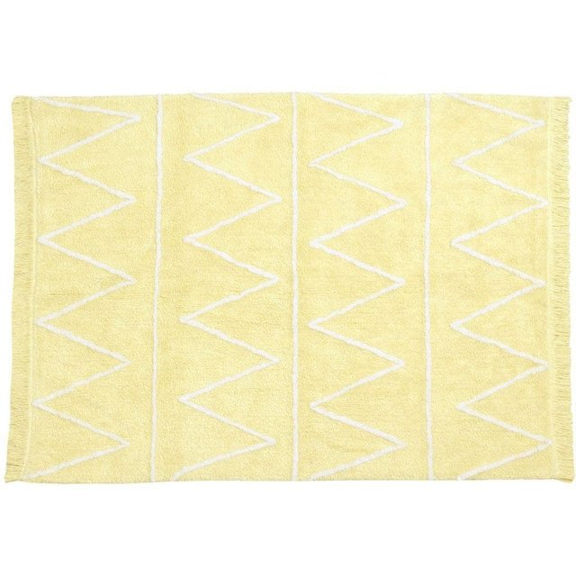 Tapete Hippy Amarelo SOFT 1,20 x 1,60 - Lorena Canals