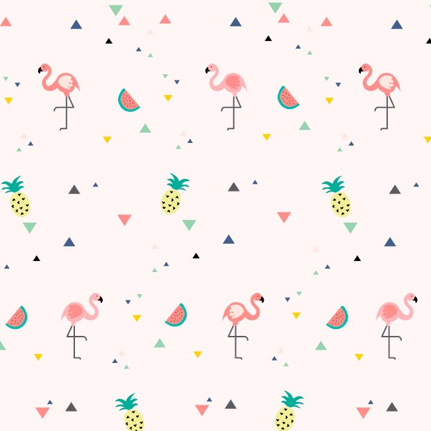 Papel de Parede Tropical - Flamingo Rosa (Exclusivo) - comprar online