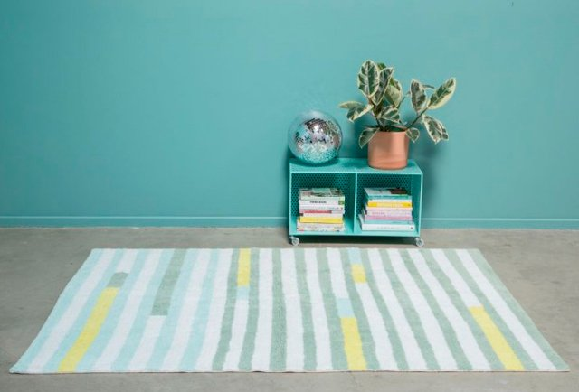 Tapete Happy Stripes 1,40 x 2,00 - Lorena Canals - Betsy Decor