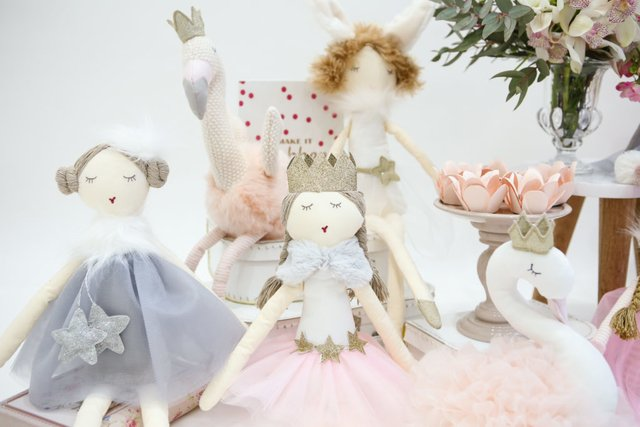 Boneca de Pano Princess Sophy - Betsy Decor