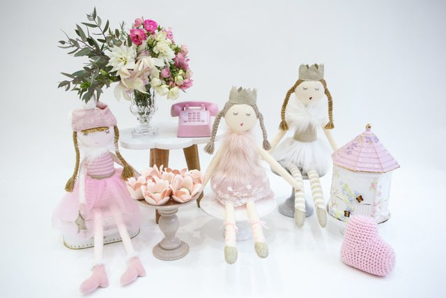 Boneca de Pano Princess Emma - Betsy Decor