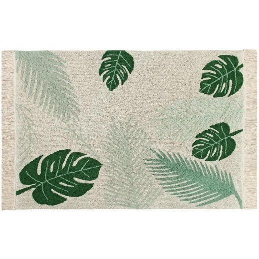 Tapete Tropical Verde 1,40 x 2,00 - Lorena Canals