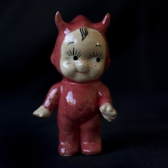 KEWPIE DOLL MINI DEVIL PINTADO A MANO