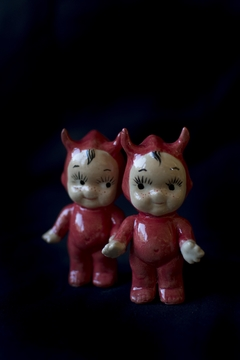 KEWPIE DOLL MINI DEVIL PINTADO A MANO en internet