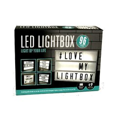 LETRERO LUMINOSO CON LETRAS CINEBOX LED