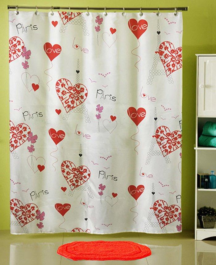 cortinas originales bao tela antihongos love paris comprar online