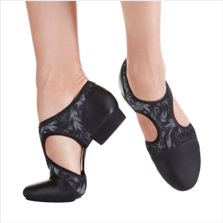 8a8d7f22806 Sapato Split Sole para Jazz em Couro - Só Dança JZ44