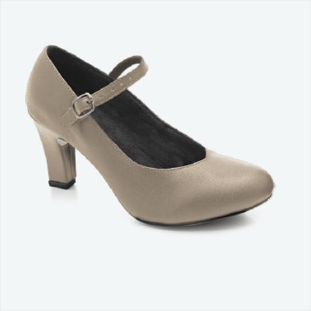 d05582f864 Sapato de dança feminino com fivela em couro - Evidence Ballet - 50