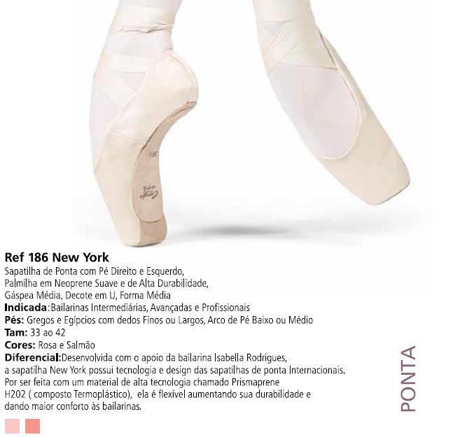 fc0a7d88c7 Sapatilha de Ponta New York - Capézio Ref 186