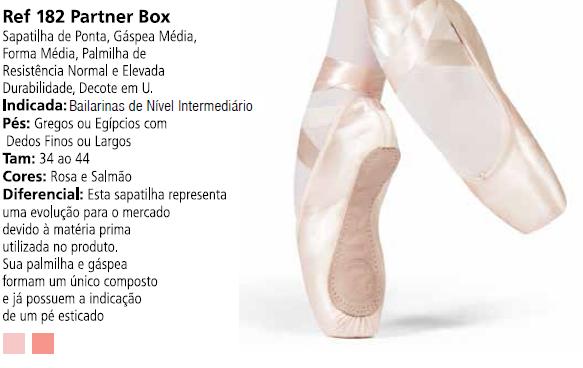 5a8d053989 Sapatilha de Ponta Partner Box - Capézio Ref 182