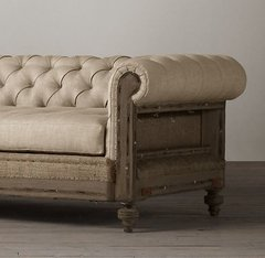 SOFA CHESTERFIELD DECONSTRUCTED - 40% OFF EN EFECTIVO