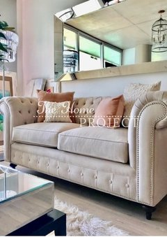 SOFA CHESTERFIELD - 35% OFF EN EFECTIVO