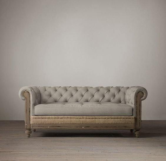 SOFA CHESTERFIELD DECONSTRUCTED - comprar online
