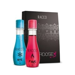 Kit Overdose de amor - gel de massagem ice + gel de massagem hot